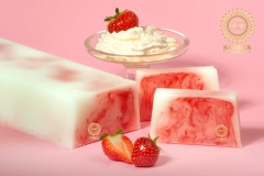 Soap «Strawberries with Cream»